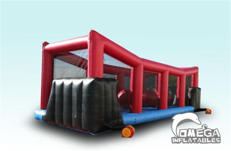 Big Ballers Inflatable Wipe Out Game