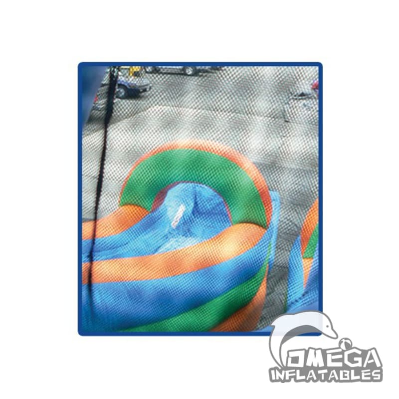 Big Dipper Tropical Water Slide With Pool