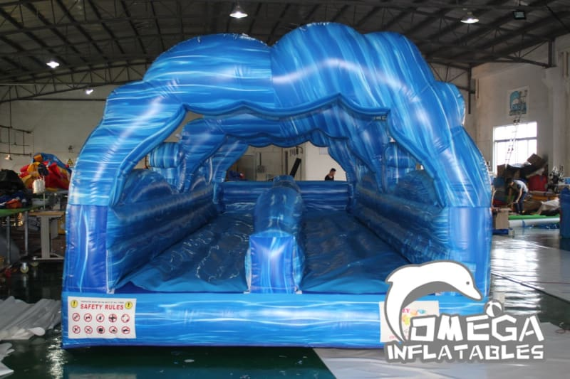 Blue Marble Wave Slip N Slide