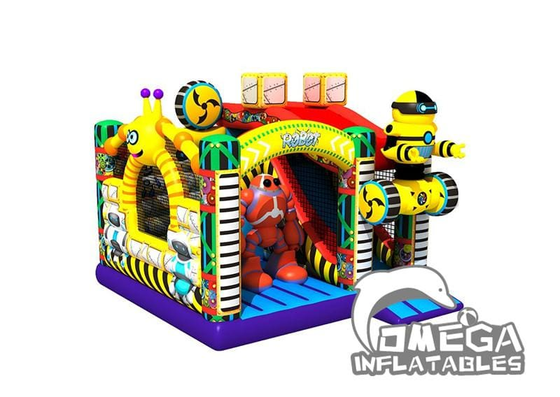 Bouncy Robot Bounce House