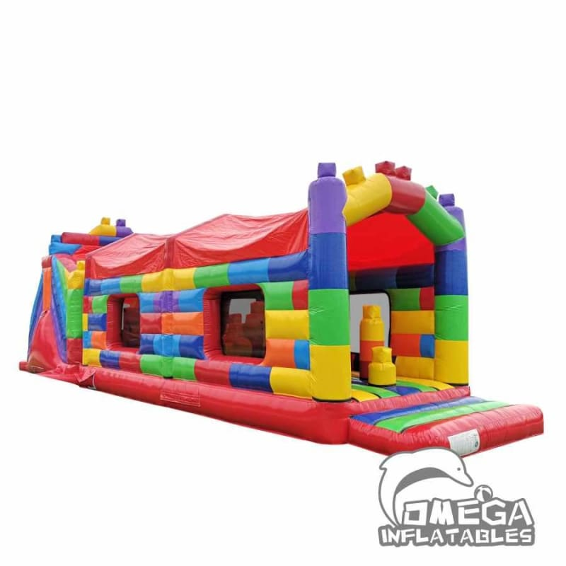 Building Block Obstacle Course
