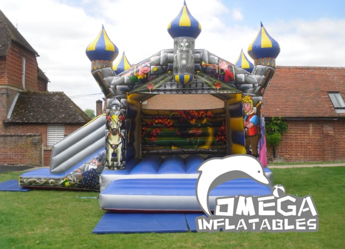 Camelot Bouncy Castle With Slide