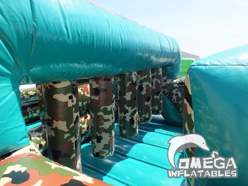 Camouflage Camp Obstacle Course