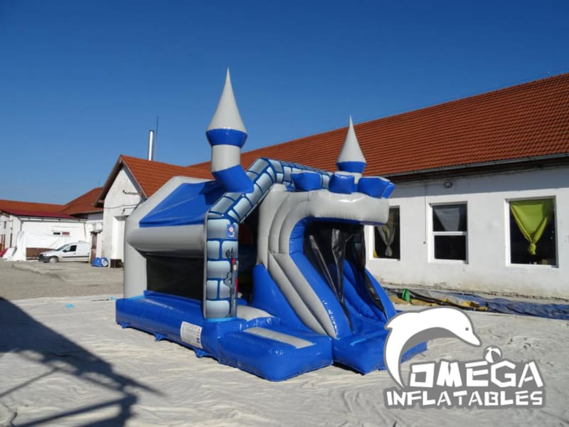 Castle Front Slide Bouncer
