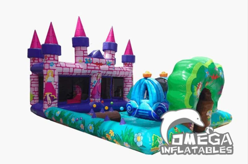 Children Inflatable Princess Themed Play Zone