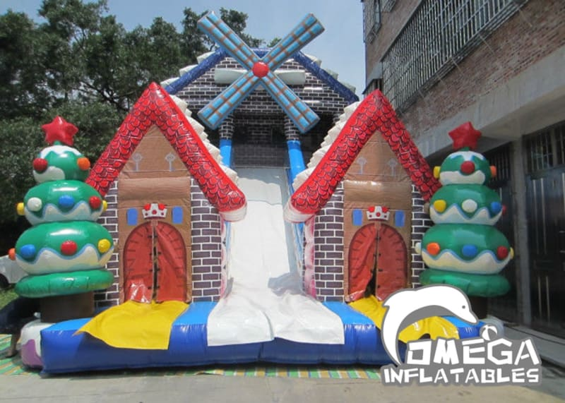 Christmas Inflatable Big Slide