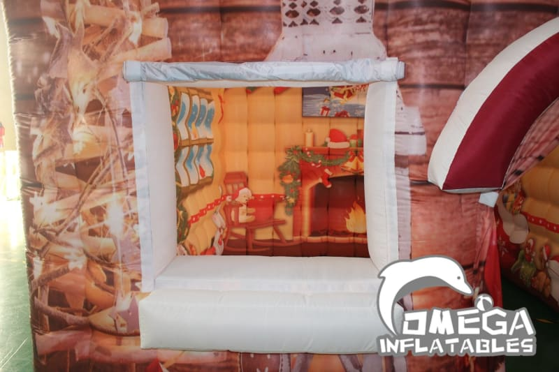 Christmas / Xmas Decoration House (Oxford Fabric)
