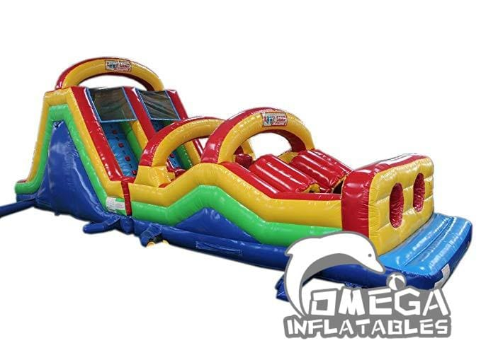 Color 15M Obstacle with Small Slide