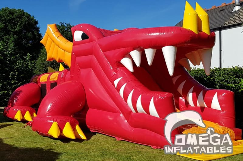 Daffy Dragon Obstacle Course