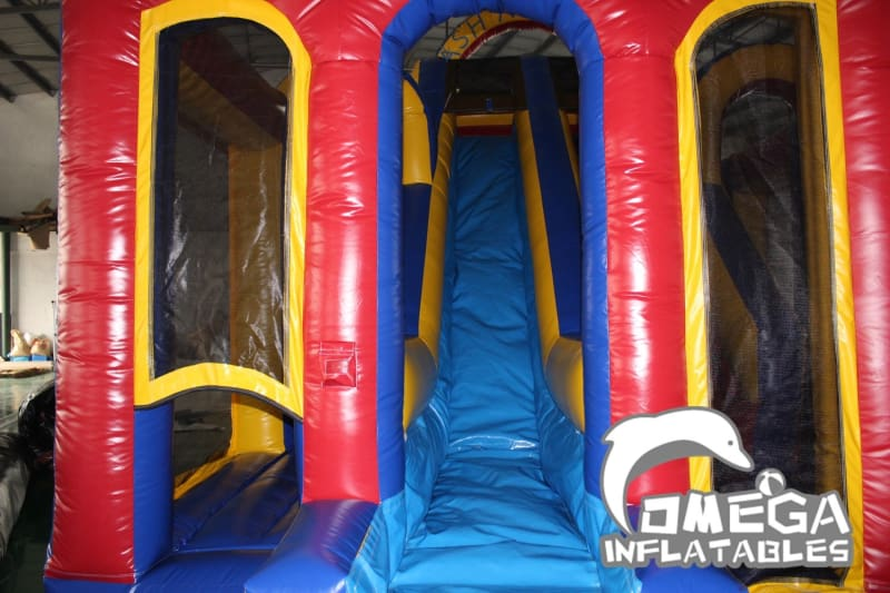 Dash N Splash Wet Dry Inflatable Obstacle Course