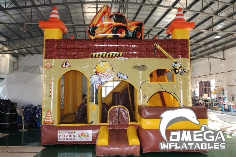 Digger/Miner Themed Jumping Castle