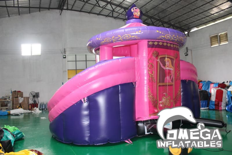 Double Slide Merry-Go-Round Bounce House
