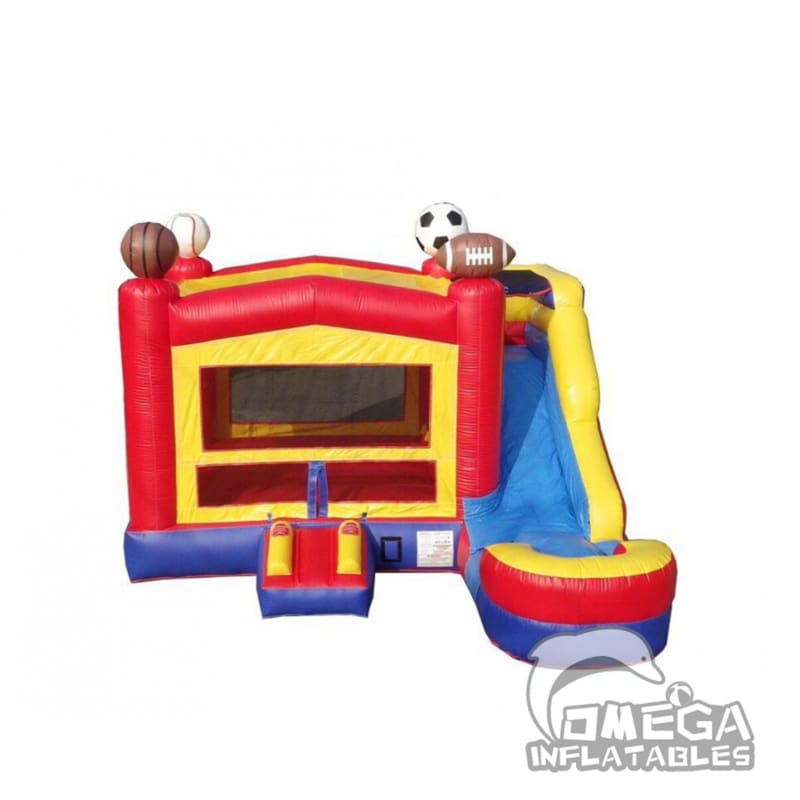Elite Galaxy Sports Bounce House Water Slide Adventure Combo