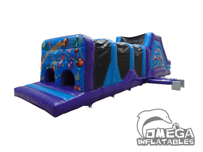 Energy Assault Course with artwork