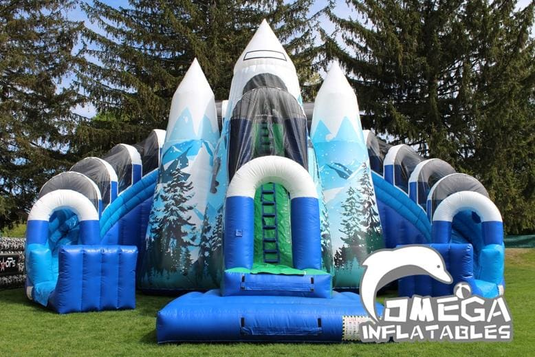 Everest Climb N Slide - Omega Inflatables