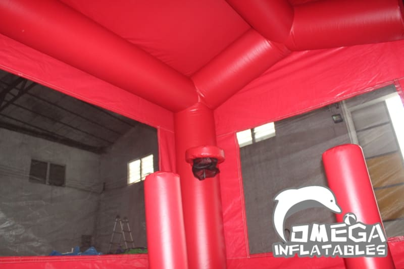 Fire Station Inflatable Combo