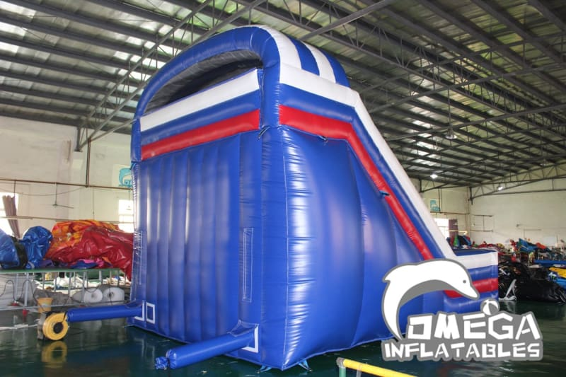 Fire Truck / Fire Engine Inflatable Slide - Omega Inflatables
