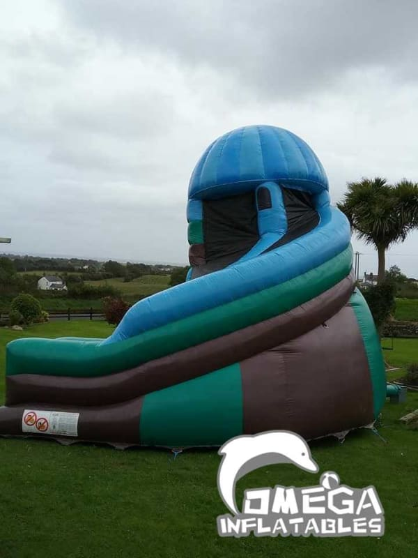 Fram Themed Helter Skelter Slide