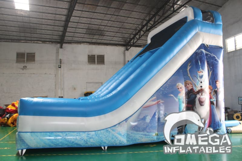 Frozen Inflatable Slide