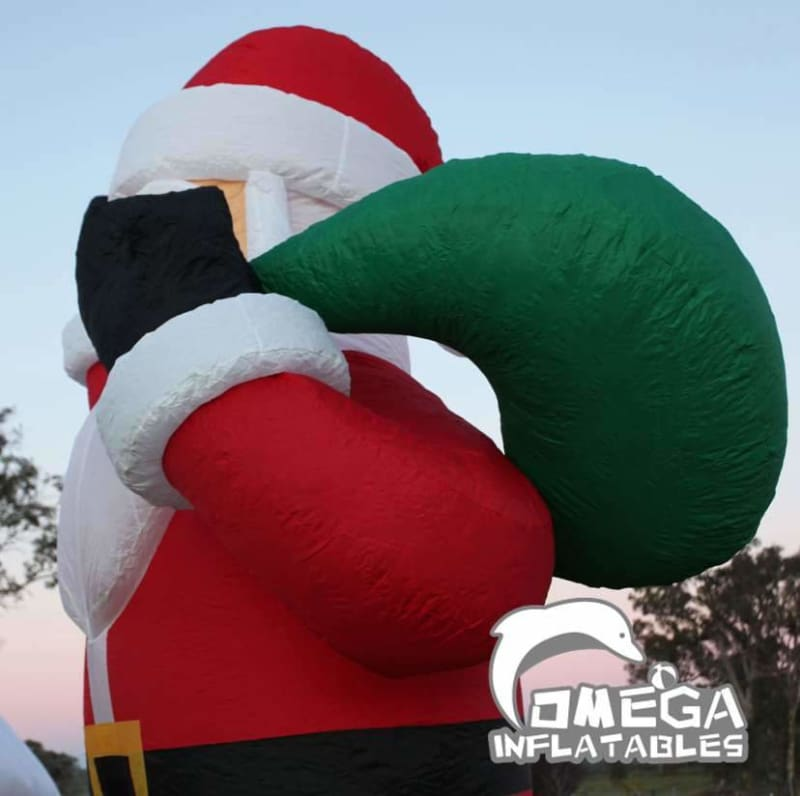Giant Christmas Santa Claus Inflatable