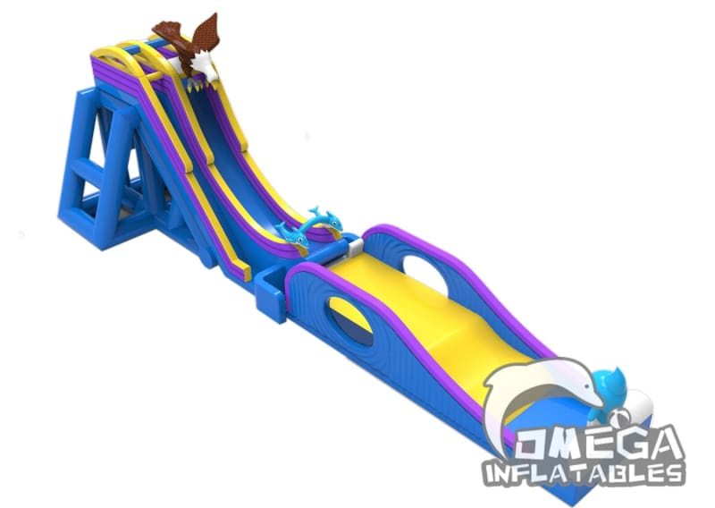Giant Extreme Gravity Water Slide