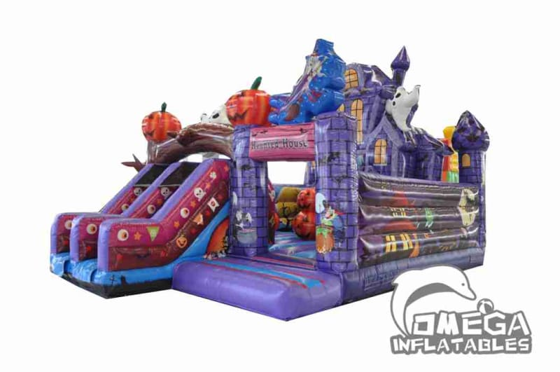 Haunted House Inflatable Bouncer