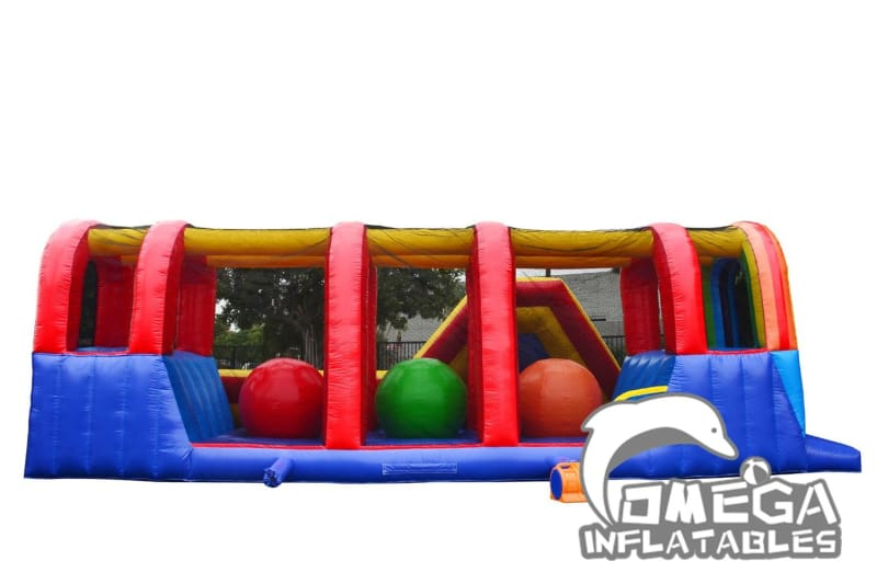 Hop N Rock Raonbow Obstacle Course