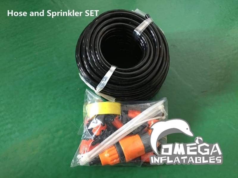 Hose and Sprinkler SET for Water Inflatables