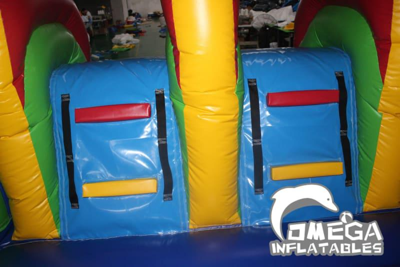 Hot Air Balloon Dual Lanes Combo - Omega Inflatables