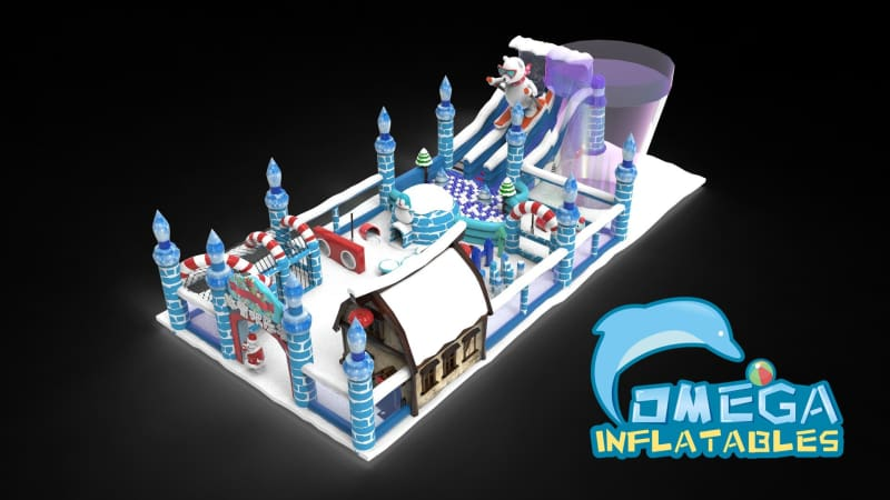 Ice Age Inflatable Playland - Omega Inflatables