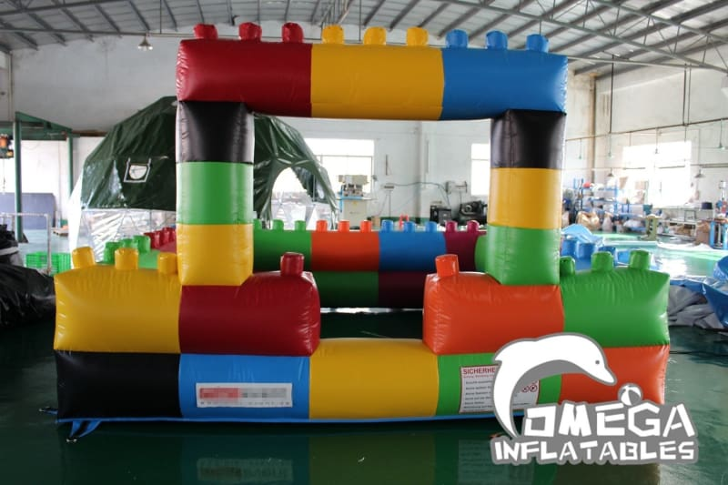 Indoor Inflatable Lego Playland without Bottom - Omega Inflatables