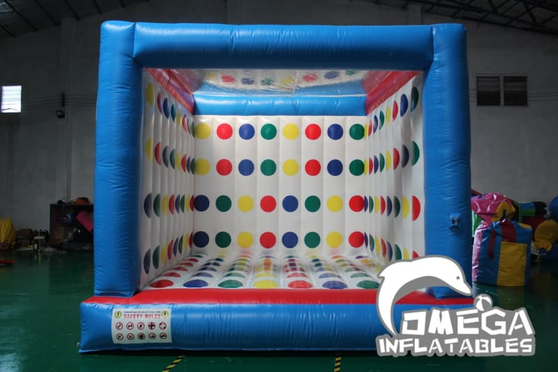 Inflatable 3D Twister Game