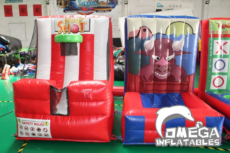 Inflatable 4 in 1 Carnival Game