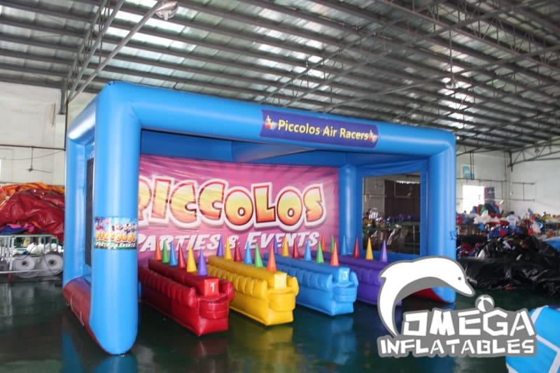Inflatable Air Racers Game - Omega Inflatables