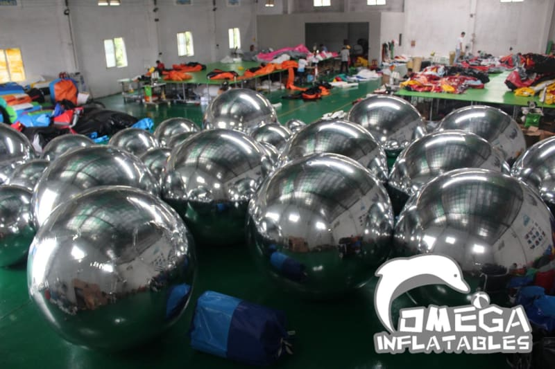 Inflatable Airtight Mirror Ball