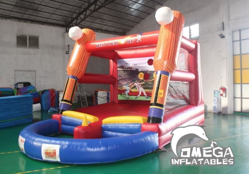 Inflatable Baseball Interactive Game