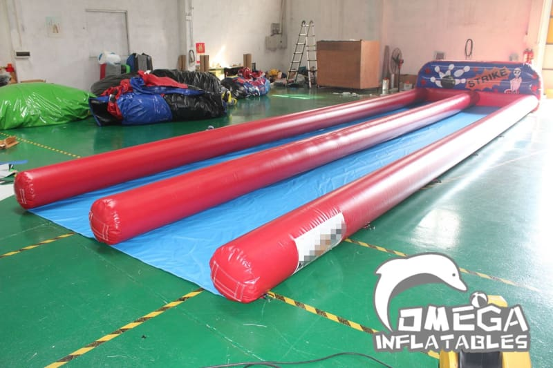 Inflatable Bowling Alley Game