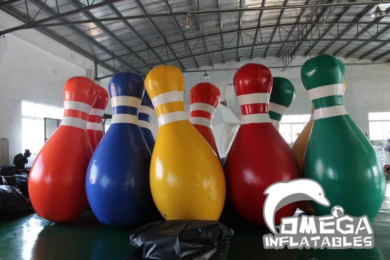 Inflatable Bowling Balls for Zorb Ball - Omega Inflatables
