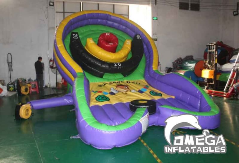 Inflatable Bullseye Ball Challenge