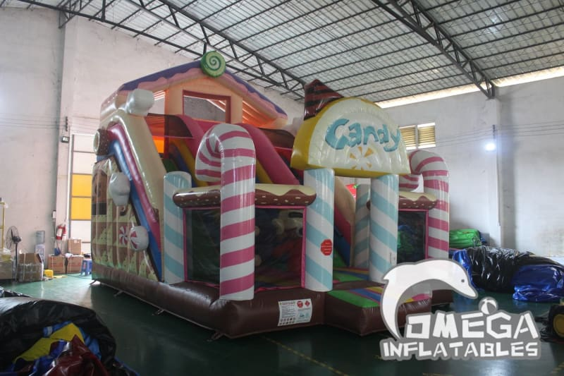 Inflatable Candy House Slide