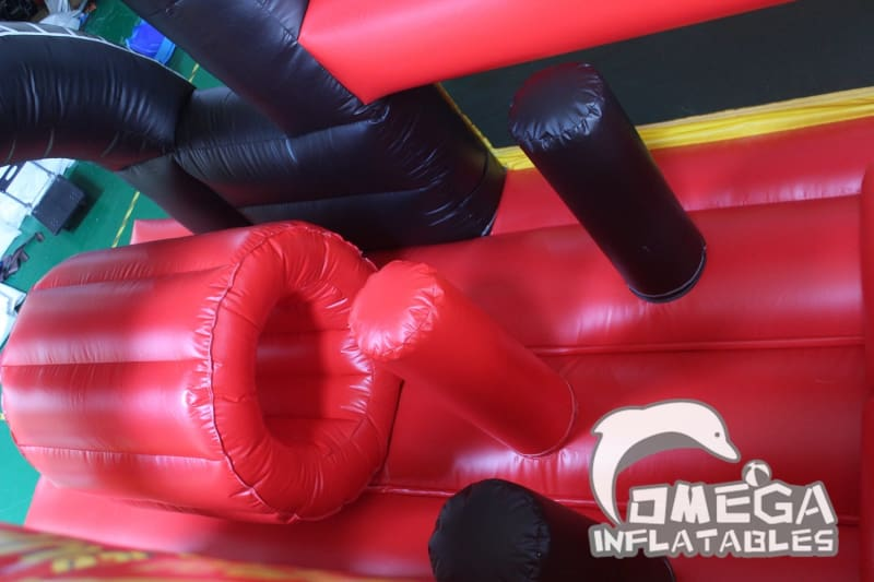 Inflatable Cars Obstacle Course