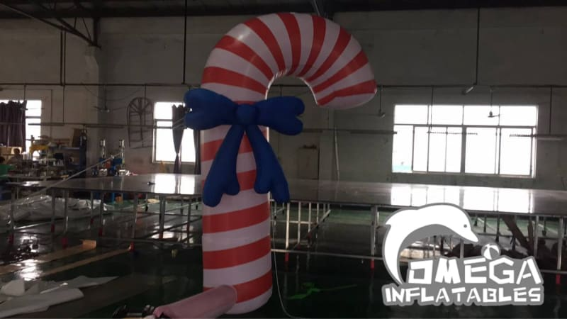 Inflatable Christmas Candy Cane
