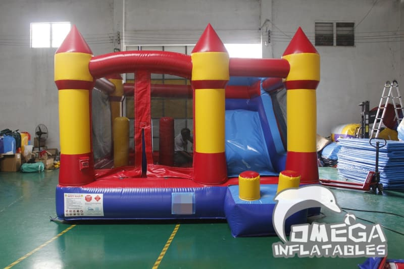 Inflatable Colorful Castle Combo
