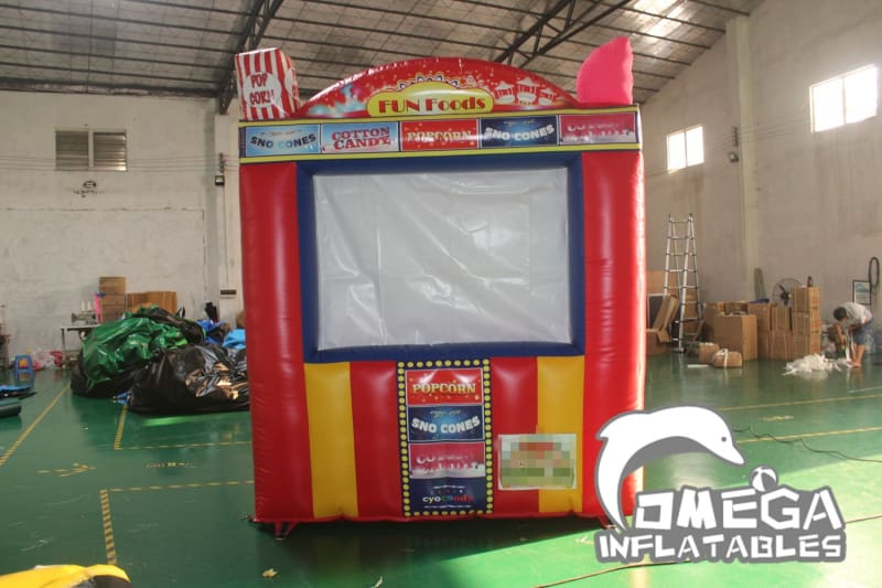 Inflatable Concession Stand(Fun Foods Booth)