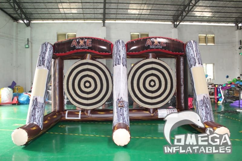 Inflatable Double Axe Throwing Game