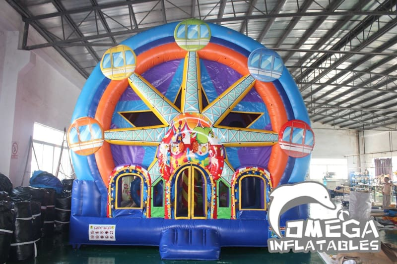 Inflatable Ferris Wheel Bounce House (Small Version)