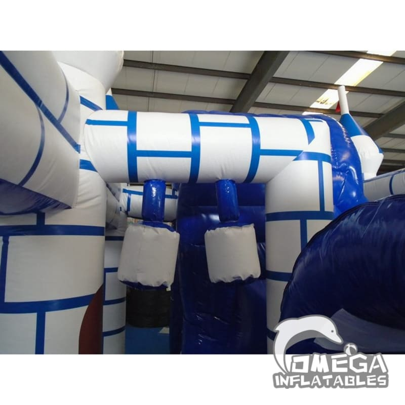 Inflatable Frozen Castle Combo