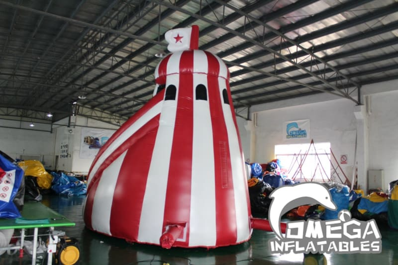 Inflatable Helter Skelter Dry Slide - Omega Inflatables