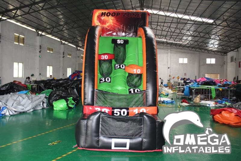 Inflatable Hoop Zone Basketball Game