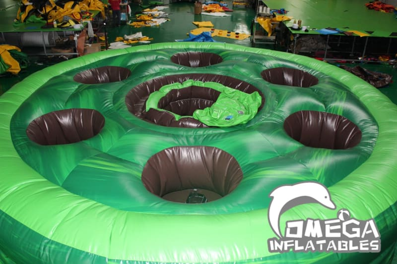 Inflatable Human Whack A Mole Game